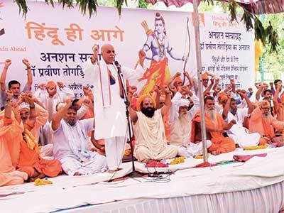 'Modi should bring law to build Ram Mandir'