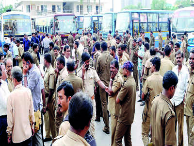 Hunger strike may affect BMTC, KSRTC bus services partially