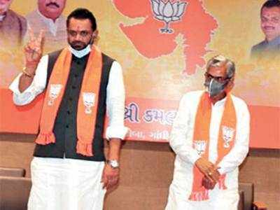 BJP faces dissent on five of eight seats