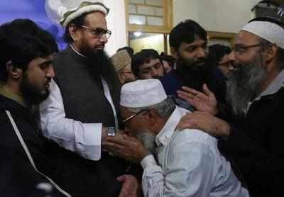 Mumbai attacks mastermind Hafiz Saeed gives Friday sermon after release from house arrest