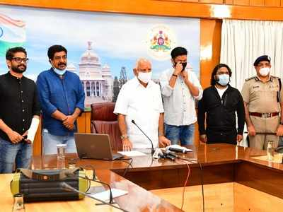 Minister appeals to celebrities to spread awareness on Covid-19; CM releases a song for corona warriors