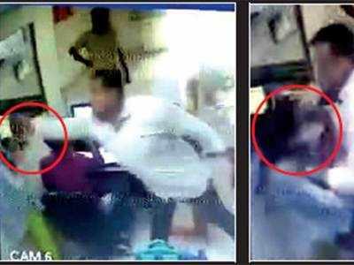 Surat cop arrestedfor attack on woman staffer of PSU bank