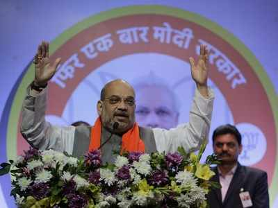 BJP ahead in Gujarat, Amit Shah leads by 3 lakh votes