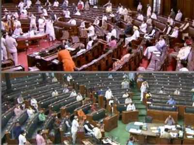 Rajya Sabha passes farm bills amid protests by Opposition