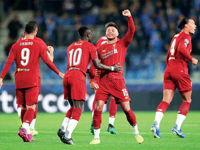Champions League: Liverpool beat Racing Genk 4-1