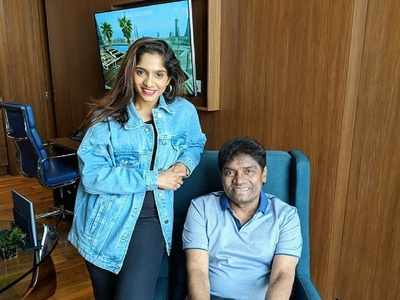 Father-daughter duo Johny and Jamie Lever post their first Tik Tok 'on popular demand'