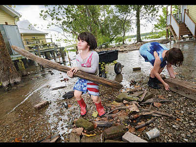 Natl disaster declared in New Orleans for 'Barry'
