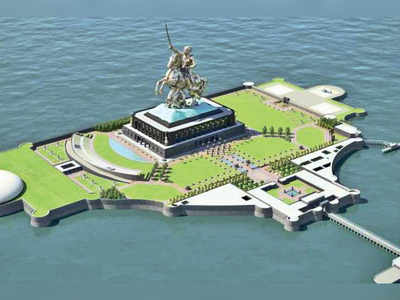 Contradictory views put a question mark on Shivaji memorial in Arabian Sea
