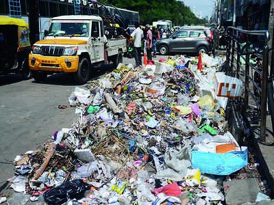 It's garbage city on SJP Road