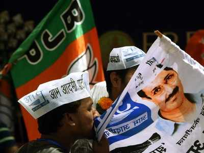 Mass exodus from AAP to BJP in the run-up to assembly polls in Delhi