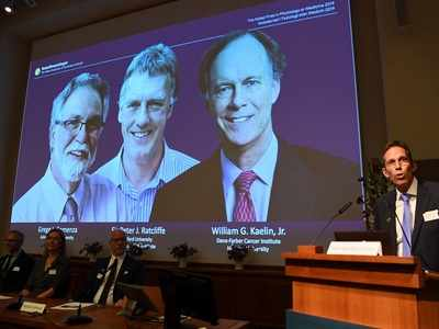 Nobel Prize in Medicine jointly awarded to William Kaelin Jr, Sir Peter Ratcliffe and Gregg Semenza