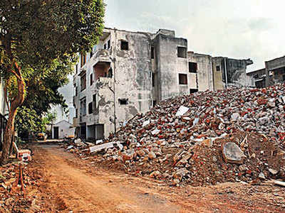 Redevelopment of flats: one against 71 members