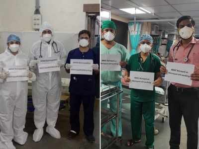 BMC betrayed us: Resident doctors launch campaign to protest against denial of stipend arrears