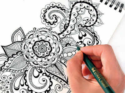 PLAN AHEAD : Try pen and ink illustration
