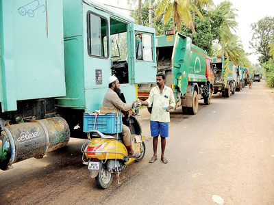 BBMP's promises a load of garbage, say villagers