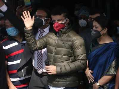 Sourav Ganguly: I am absolutely fine, hopefully will be ready to fly soon