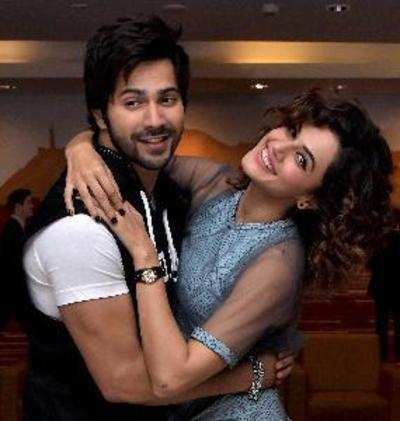 Guess what Judwaa 2 stars Taapsee Pannu and Varun Dhawan are bonding over