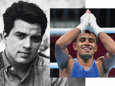 Asian Games: Boxing champion Amit Panghal talks about Dharmendra in his first tweet