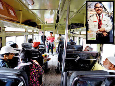 SpiceJet pilot promotes airline hygiene on buses