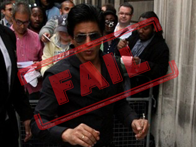 Fake alert: No, Shah Rukh Khan wasn't arrested in London over anti-CAA protest