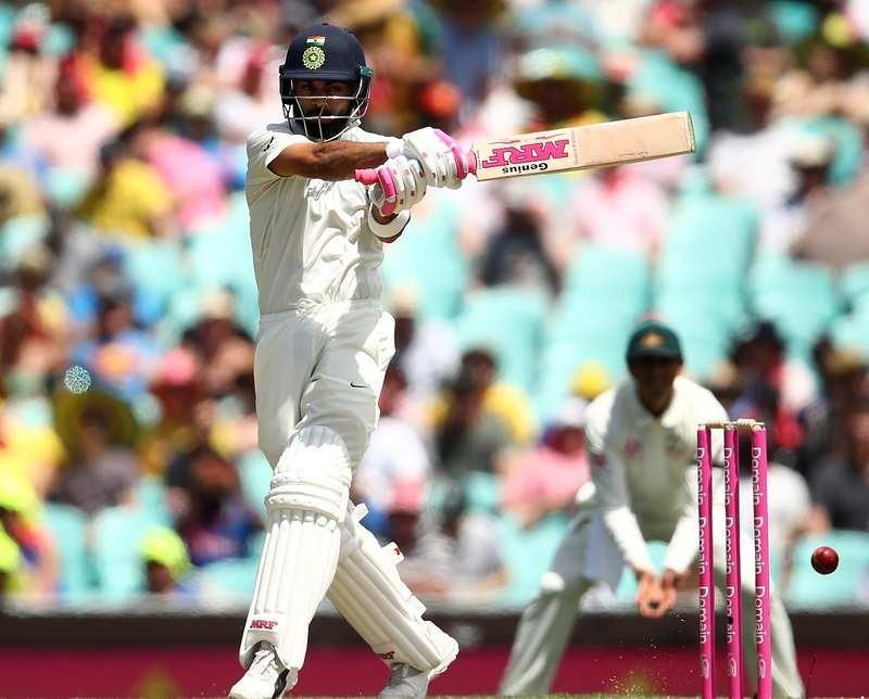 Virat Kohli sports pink on bat, gloves in support of breast cancer awareness
