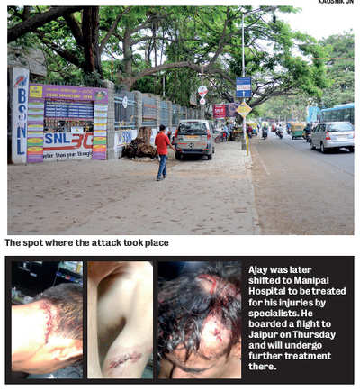 Gang in Innova attacks man, stabs him in groin as he waits for BMTC airport bus  in Indiranagar