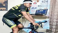 Virtual race: Bengaluru ultra-cyclist clinches third spot