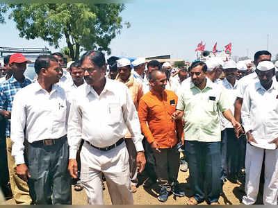 Farmers march again, but this time for their man in Lok Sabha
