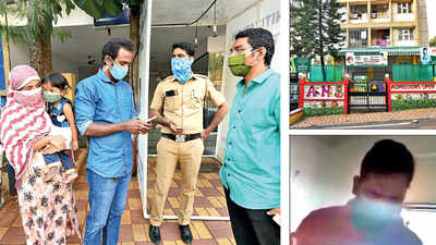 Principal knocks on student's door for unpaid school fees