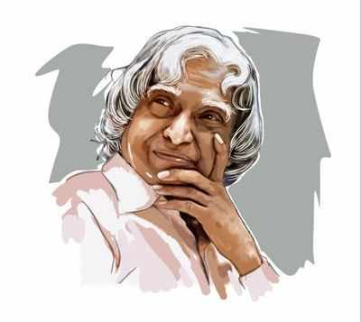 Tamil Nadu: School students create APJ Abdul Kalam's face with paper cups to enter Guinness records
