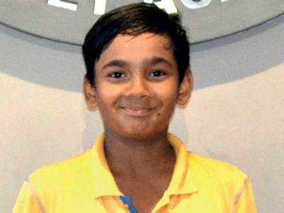 Krish wins U-14 crown