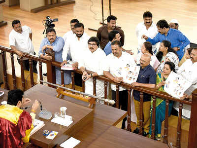 Oppn cries 'disrespect to dy CM' in budget book