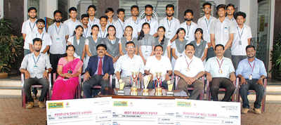 Karnataka: VCET team bags three awards for solar car