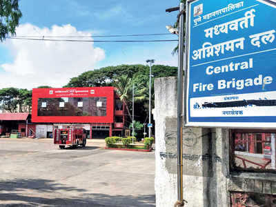 Firefight Rages In City'S Fire Brigade