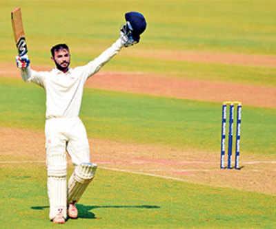 Mumbai's 500th Ranji Trophy match Day 2: Aditya Waghmode flattens Mumbai with century