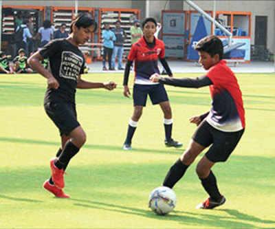 Premier School League: Mahatma Gandhi International School beats St Xavier's School as Viken Patel scores four goals