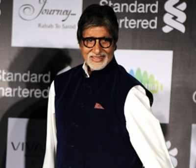 Amitabh Bachchan strains his neck again