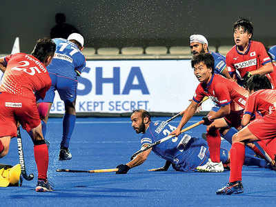 India beat Asian Games champions Japan 7-2, assured of Olympic qualifying event spot