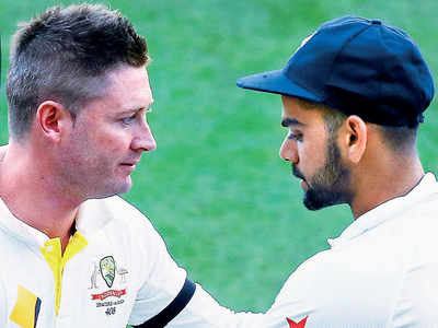 Ahead of India-Australia Test series, former Australia skipper Michael Clarke calls Virat Kohli the best all round batsman in the world
