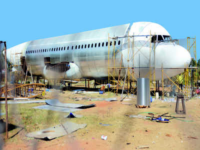 Plane dreams of small towns, made in Bengaluru