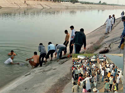 Suicide pact: 4 cousins jump in Narmada canal