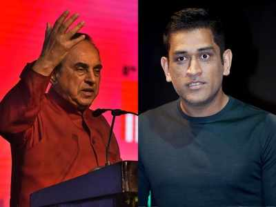 Why Subramanian Swamy wants MS Dhoni to fight Lok Sabha elections