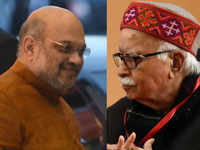 Amit Shah gets Gandhinagar ticket, end of poll road for LK Advani