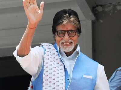 Amitabh Bachchan praises healthcare workers, calls them 'God's own angels in white PPE units'