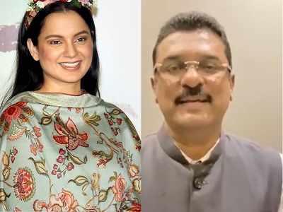 Shiv Sena MLA Pratap Sarnaik threatens Kangana Ranaut; says if she comes here, our warriors will break her mouth