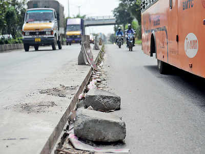 Only 7 out of 73 roads white-topped in 3 yrs