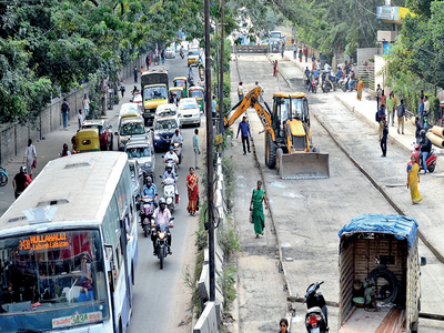Hosur Road gives Jayadeva flyover a new lease of life