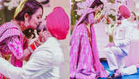 Dreamy affair! Neha, Rohanpreet seal it with a passionate kiss