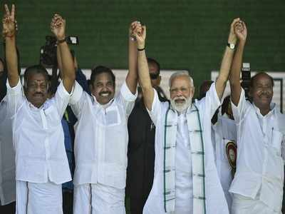 AIADMK releases list of constituencies allotted to self, BJP, PMK, DMDK