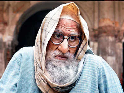 Exclusive! Amitabh Bachchan looks almost unrecognisable in Gulabo Sitabo